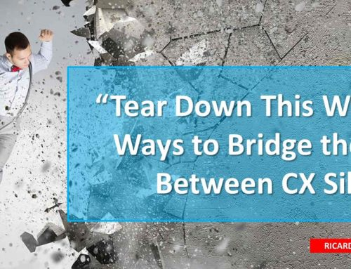 Tear Down This Wall: 27 Ways to Bridge the Gap between CX Company Silos