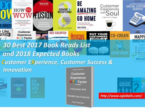 30 Top Customer Experience New Books I read in 2017 & Expected Books for 2018, Which I Highly Recommend!